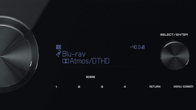 Black Yamaha Audio RX-V6A
