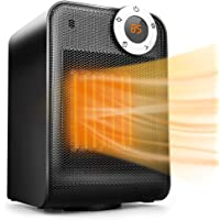 Deals on Trustech Portable Space Heater, Adjustable Thermostat 1500W