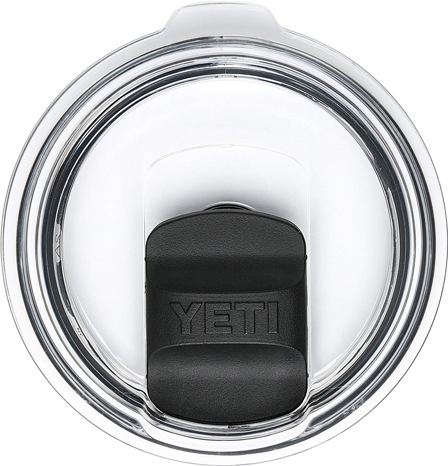 Magnetic Lid 30 oz Splash Proof - NO LEAK & Splash resistant Vacuum Replacement Black Magnetic Lid Fits for YETI Rambler, Ozark Trail, Old Style Rtic and More (Black)