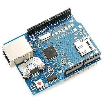 yongse® Ethernet placa Módulo W5100 Micro ranura de tarjeta SD para Arduino UNO MEGA
