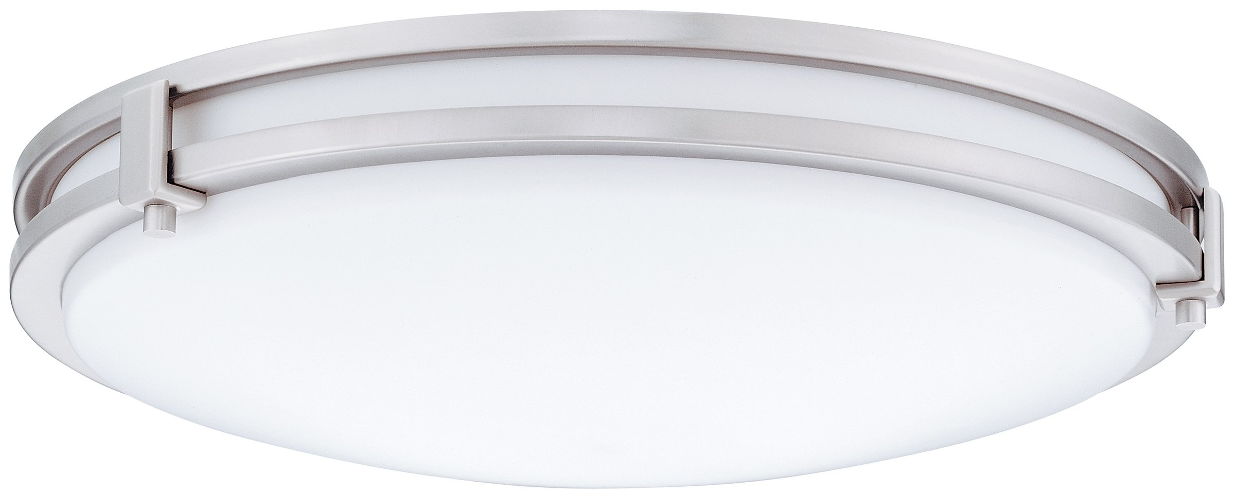 Lithonia Lighting FMSATL 13 14840 BN M4 Antique Brushed Nickel LED Saturn Flushmount