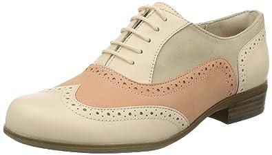 Clarks Hamble Oak, Women's Derby Lace-up, Pink (Peach Combi),