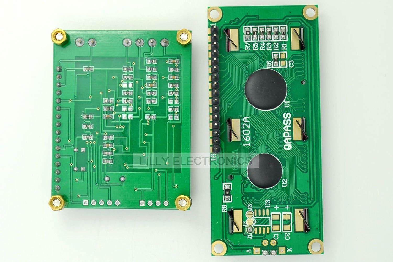 Q-BAIHE HZ300/Medidor de frecuencia Alta frecuencia 10/MHz-2.4GHz//Baja frecuencia 0/ /50/MHz DC7/~ 12/V