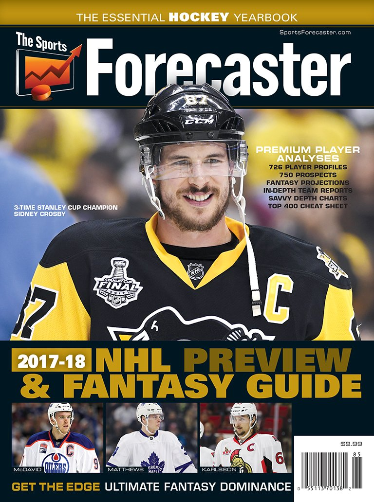 Forecaster 2017 18 Preview Fantasy Yearbook product image