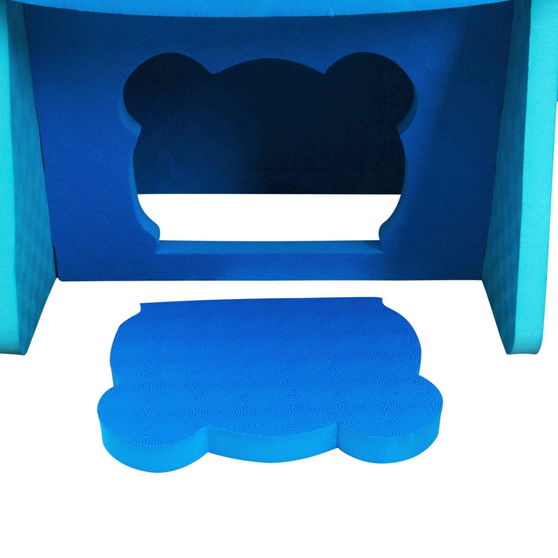 XMTMMD Espuma EVA mesa y silla para ni/ños Muebles Toy f/ácil de montar uego de mesa y silla de puzzle de EVA para ni/ños con dise/ño de animales nuevos AMZPZY17