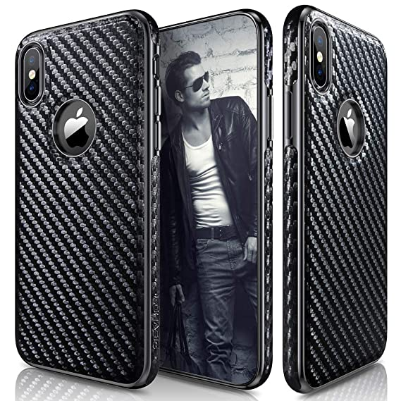 carbon fiber iphone xs case