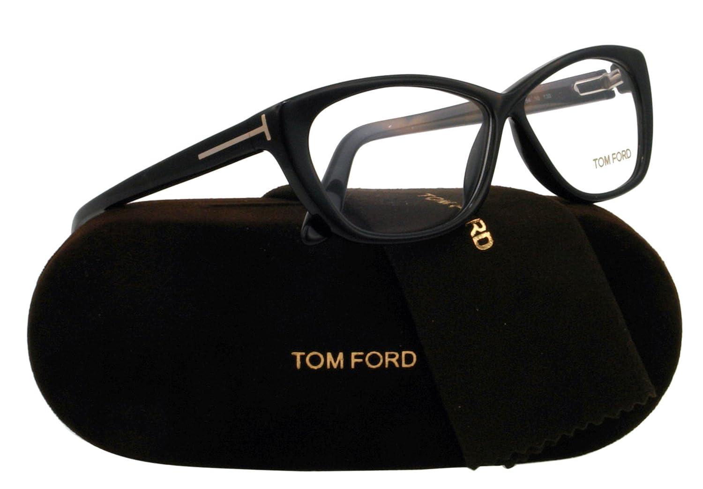 cfa0cfa731 Tom Ford Glasses 5227 001 Black 5227 Cats Eyes Sunglasses  Amazon.co.uk   Clothing