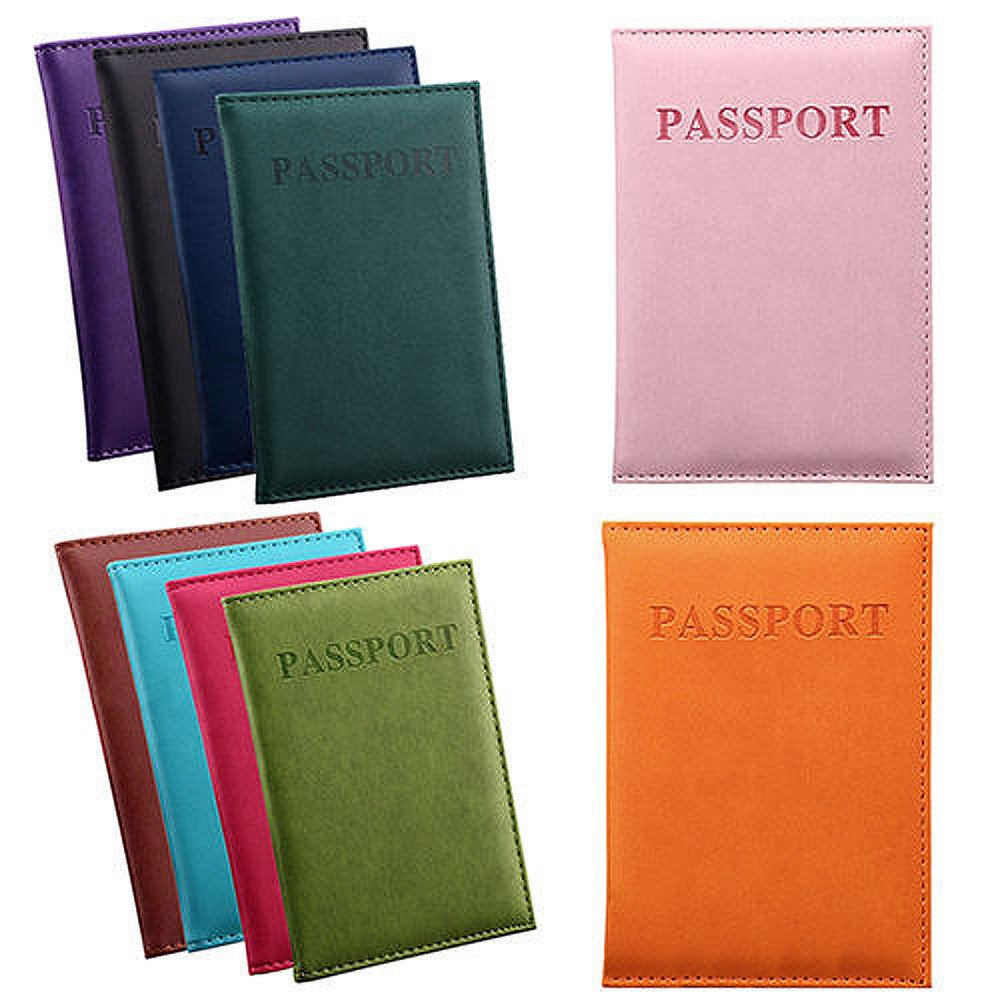 Ourhomer  Clearance Sale Wallet Dedicated Nice Travel Passport Case ID Card Cover Holder Protector Organizer (Hot Pink) by Ourhomer (Image #2)