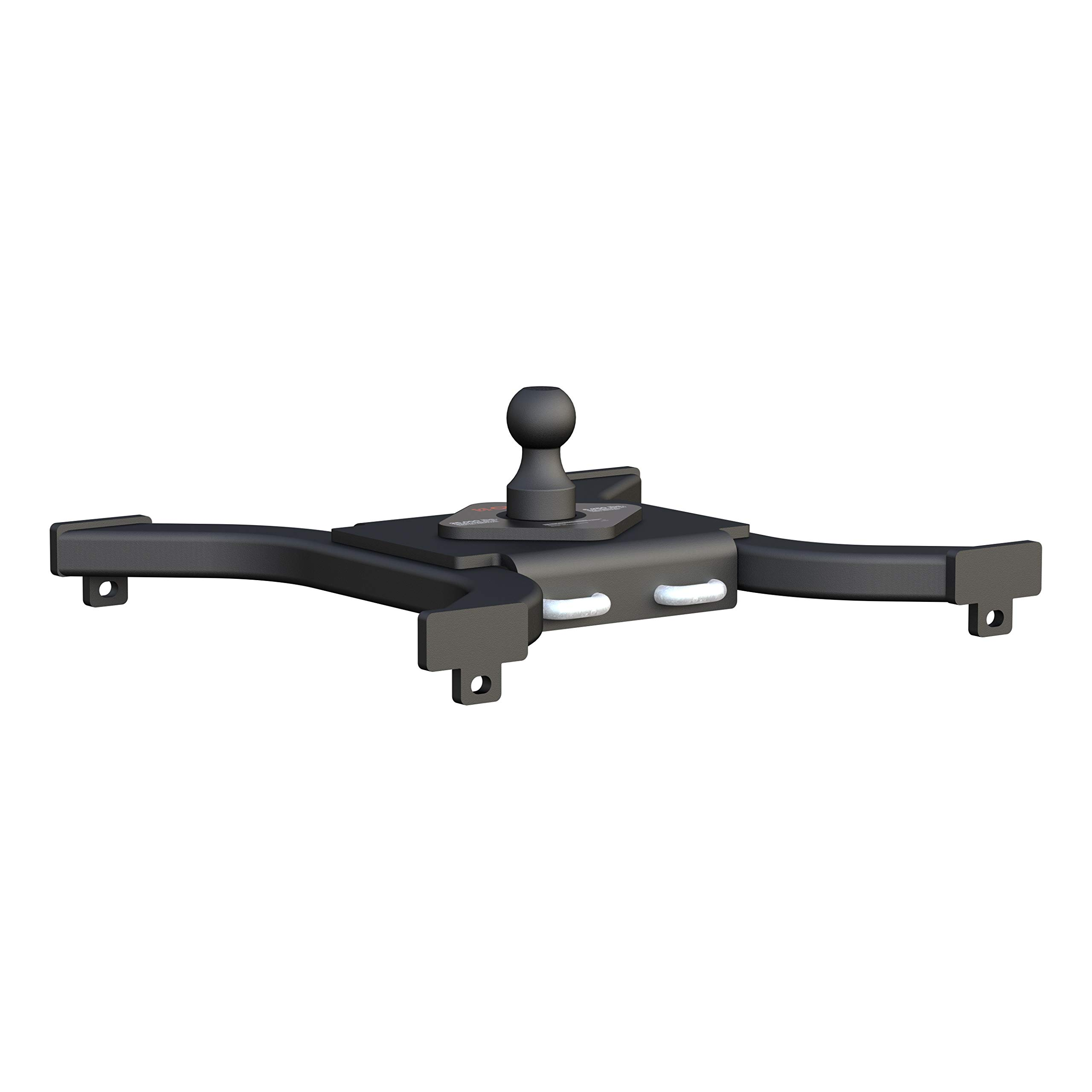 CURT 16085 Spyder 5th Wheel to Gooseneck Adapter Hitch, Fits Industry-Standard Rails, 25,000 lbs., 2-5/16-Inch Ball by CURT