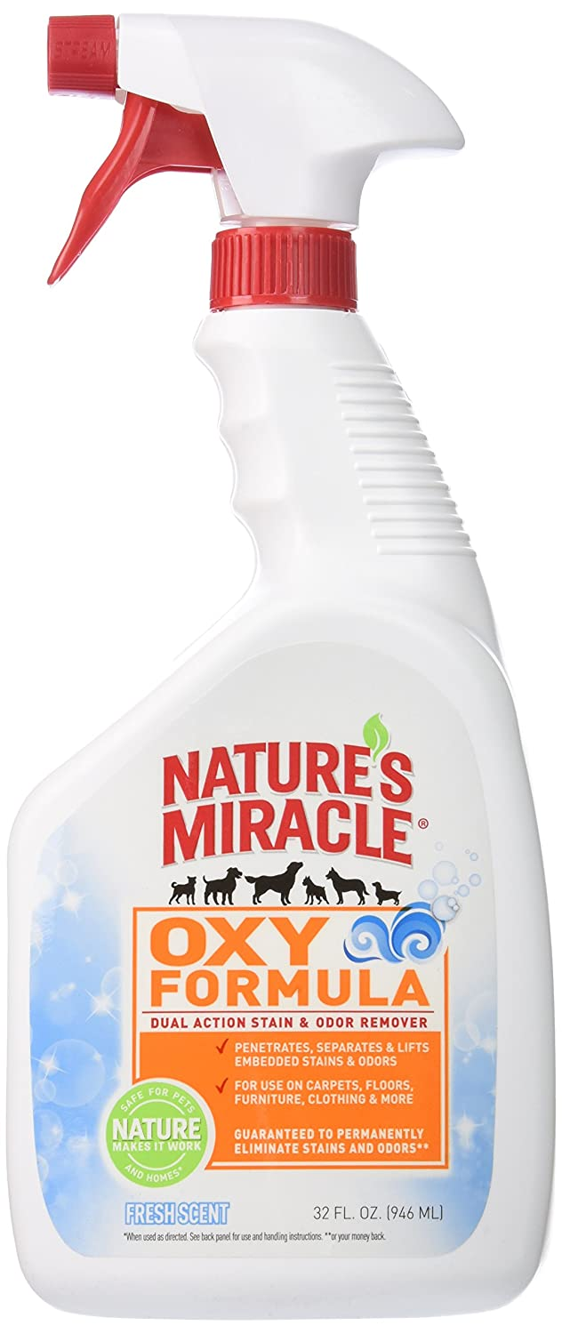 32-Ounce Nature's Miracle Oxy Forumula Satin & Odor Remover, 32 oz