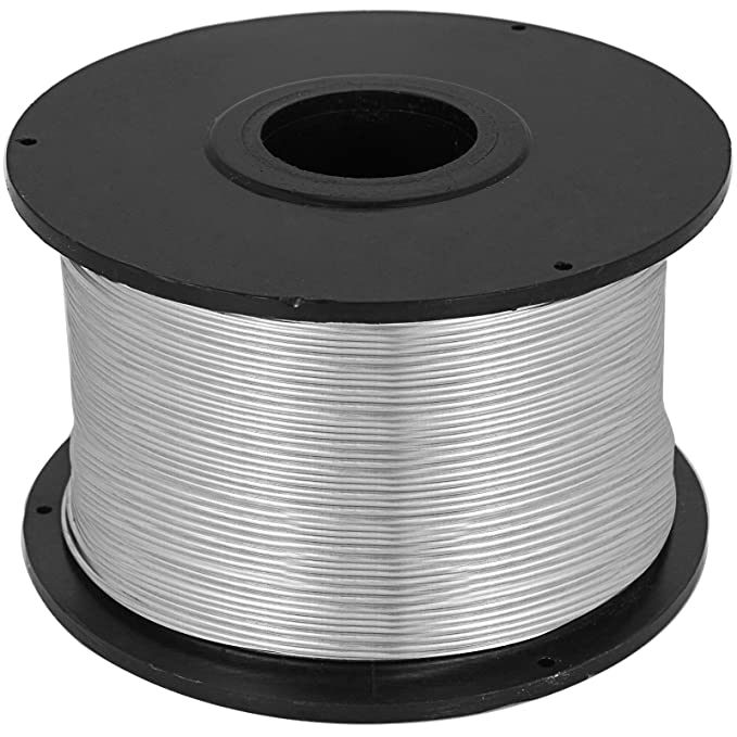 0.8mm Tie Wire 10 Coils Durable Smooth Surface Anti-oxidation Heavy Duty