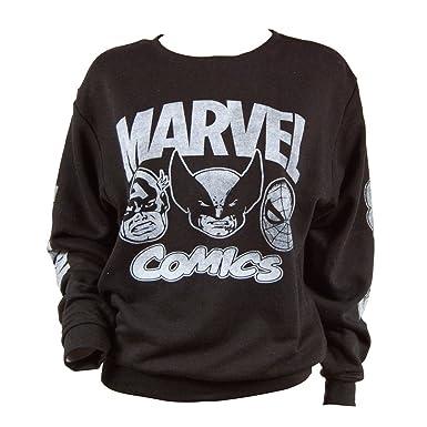 Marvel Comic Jumper Activewear Men's Clothing