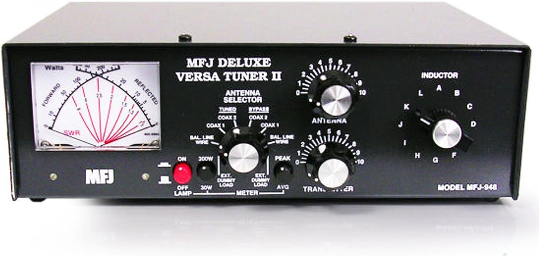MFJ 948 300 vatios, pico lectura HF antena sintonizador para ...