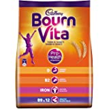 Cadbury Bournvita Pro-Health Chocolate Health Drink, 500 gm Refill Pack