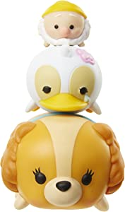 """Disney Tsum Tsum Series 3 Happy, Ugly Duckling & Lady 1"""" Minifigure 3-Pack #204, 344 & 230"""