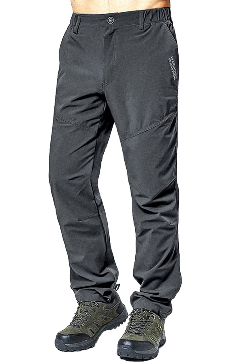Mr.Stream Men's Windproof Breathable Quick Drying Outdoor Long Length Pants