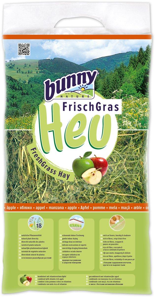 Bunny Heno fresco para roedores adultos manzana 500 gr: Amazon.es: Productos para mascotas