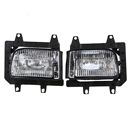 For 1985-1993 BMW E30 3-Series Sedan Car Front Bumper Clear Lens Fog Lights Lamp Car & Truck Fog & Driving Lights