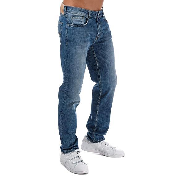 13975be3 Henri Lloyd Mens Maesbrook Regular Fit Jeans in Light Wash Denim: Henri  Lloyd: Amazon.co.uk: Clothing
