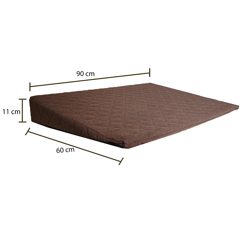 Almohadas de relajación Salosan®, Almohadones para la cama, sillón, cubierta o sofá. Almohada de cuña para liberación de tensión, cojines de respaldo ...