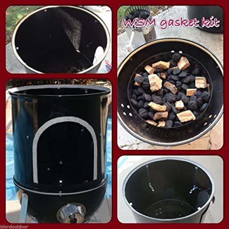 Weber Smokey Mountain Smoker >> Amazon Com Weber Smokey Mountain Gasket Kit Wsm Bullet Smoker