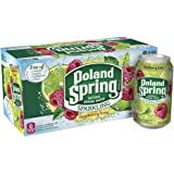 Poland Spring Sparkling Water, Raspberry Lime, 12 oz. Cans (Pack of 8)