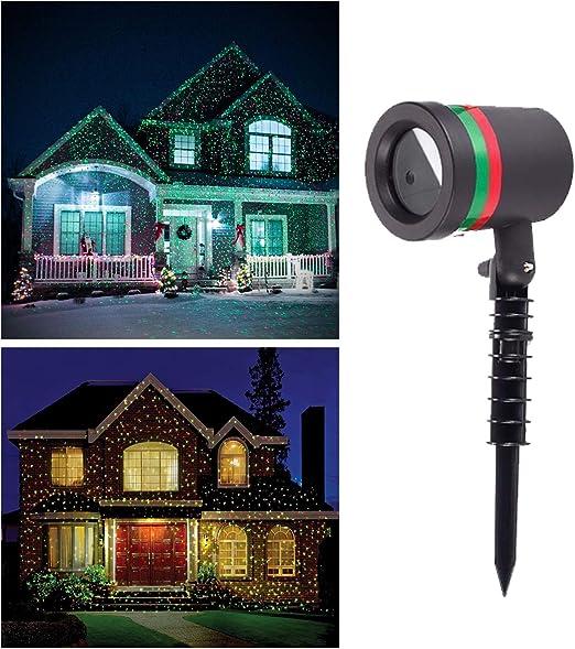 Proyector LED de luces, lámpara de proyección LED, luz de Navidad ...