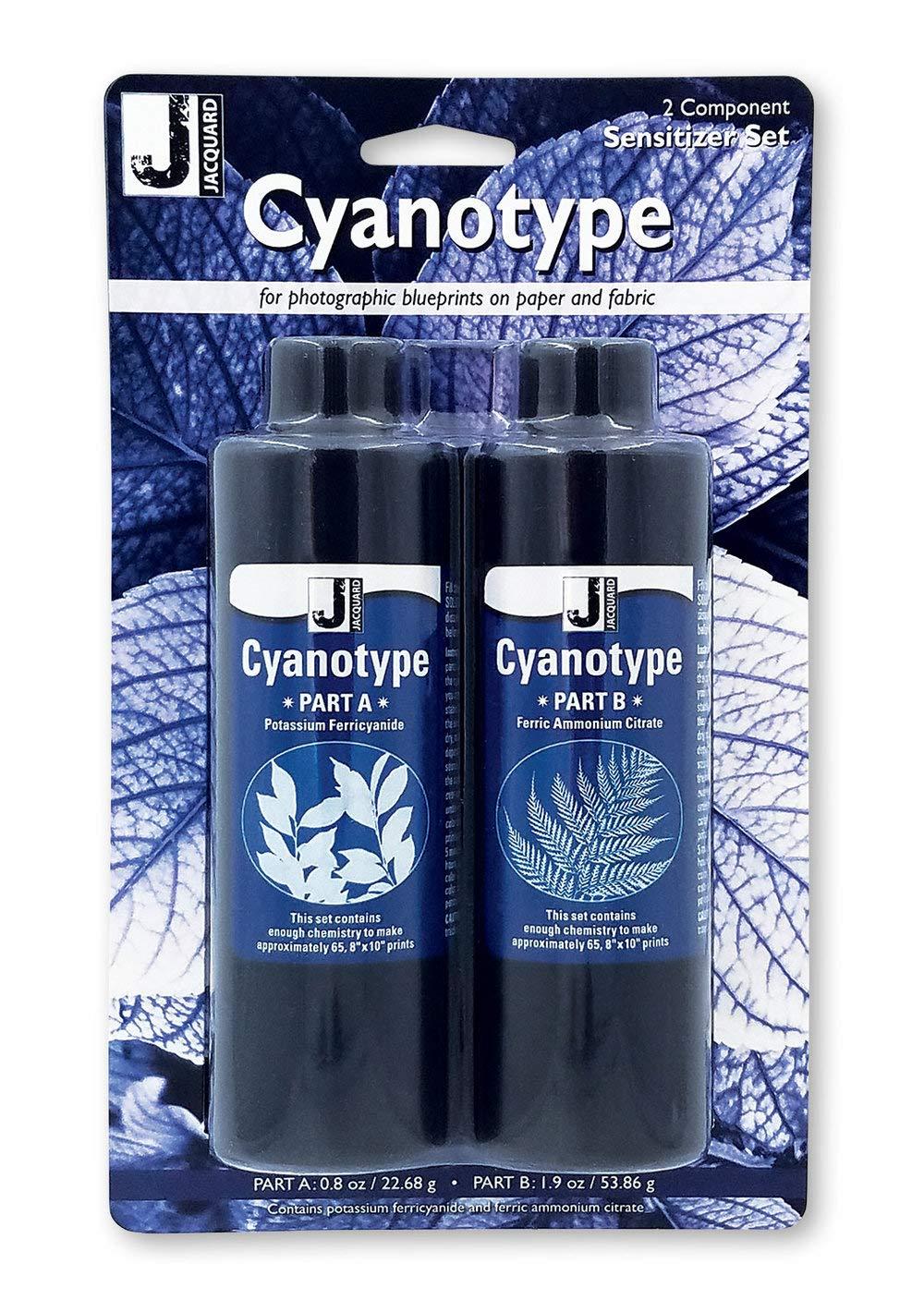 Jacquard Cyanotype Pretreat Fabric Shts 10Pk