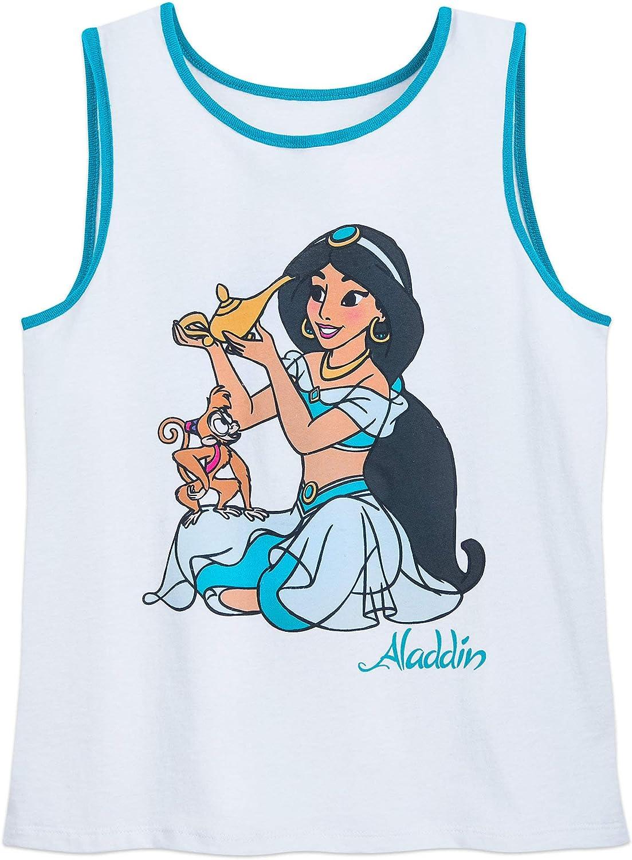 Disney Jasmine Ringer Tank Top for Women - Aladdin Multi