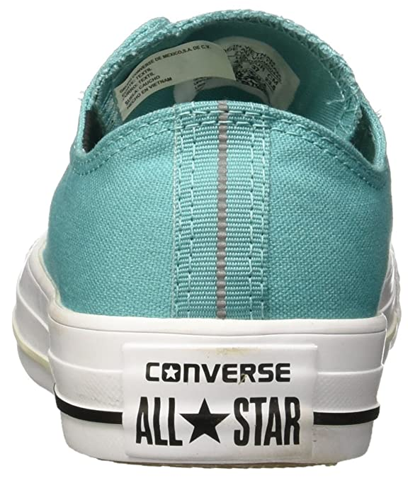 7ee6551bf1c Converse Chuck Taylor All Star Aegan Aqua Textile Trainers  Amazon.co.uk   Shoes   Bags