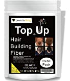 Levins King Hair Building Fiber, Black, 25g - Pack of 1