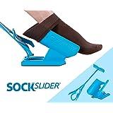 Calcetín Slider, Easy Off Kit de ayuda para ponerse los calcetines y calzador, dolor libre no doblado