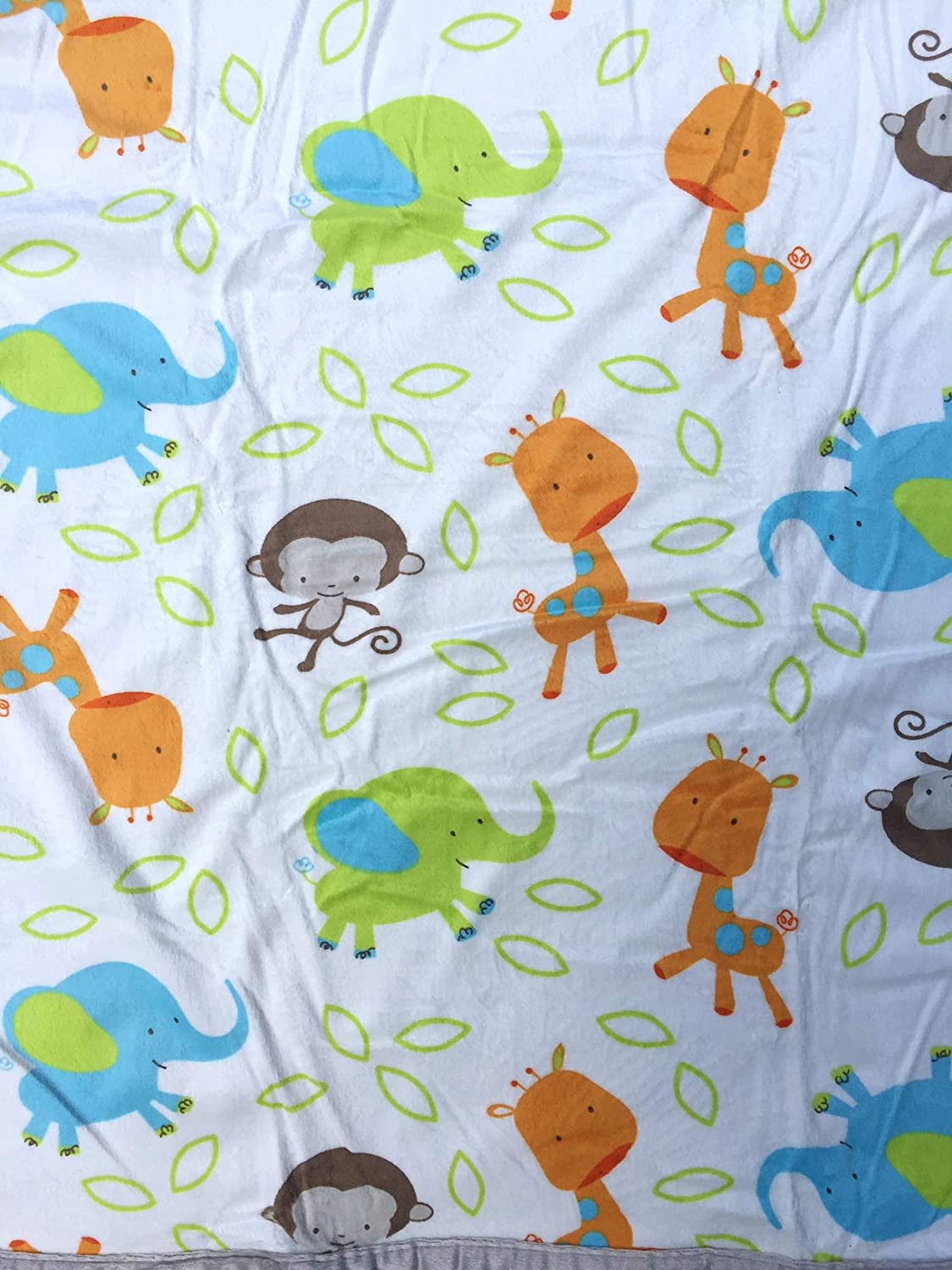 Mint Swirl Boy Baby Blanket Multiple Designs and Themes Sherpa Backing Extra Soft Micro Plush Fleece Blanket Warm and Cozy Anti-Pilling