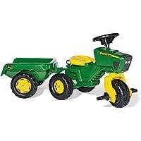 rolly toys 052769 - Triciclo en forma de tractor John Deere con sonido [importado de