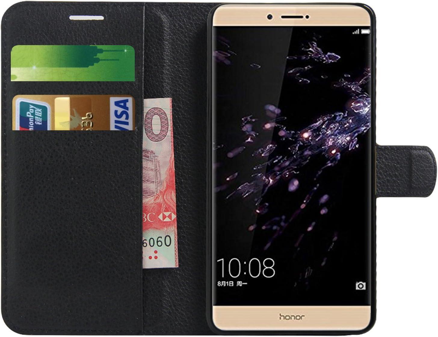 Huawei Honor Note 8 Funda, Anzhao Funda de Cuero Piel Carcasa con ...