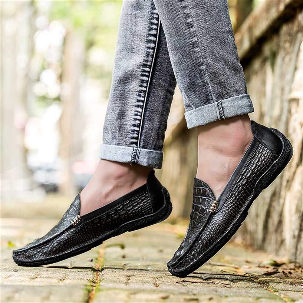 GPF-fei Herrenschuhe, Spring Fall Flat Loafers Comfort Driving schuhe schuhe schuhe Loafers & Slip-Ons Lazy Schuhe Peas Schuhe Mens Outdoor Walking Gym Schuhe Radschuhe Radschuhe,braun,44  a1eef2