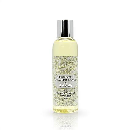 100% Naturales cítricos suave Make Up Remover Cartucho limpiador 150 ml Natural Raw & –