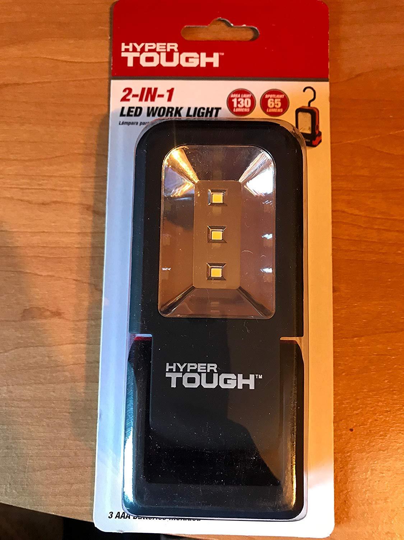 Hyper Tough 2 In 1 Led Work Light