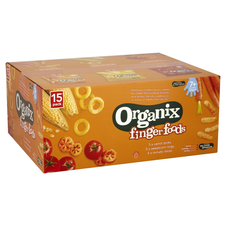Organix Bulk Snack Pack Mixed 15 x 20g