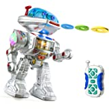 PTL® RC Remote Control Fighting Robot Talking Kids Toy Robot with Sound, Lights, Music, Walking Dancing Shooting RC Robot Toy Top Popular Best Kids Boys Girls Toys - PL9029