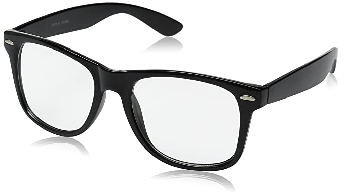 9f8895e15424 Amazon.com  GENERIC Retro Clear Lens Eye Glasses
