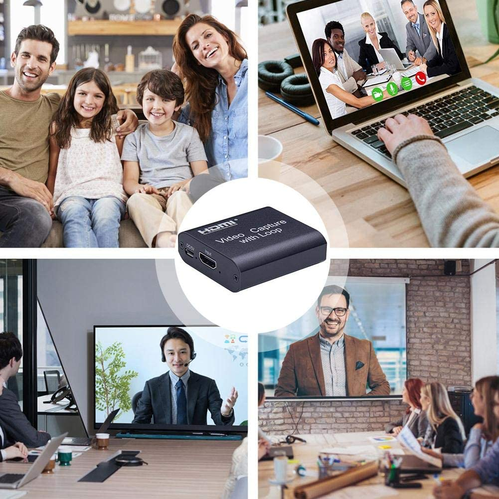 Capture Card Recorder Box Device for Live Streaming Video Recording Capture Card HDMI to USB 3.0
