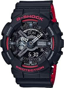 GSHOCK Men's Automatic Wrist Watch analog-digital Display and Resin Strap, GA110HR-1A