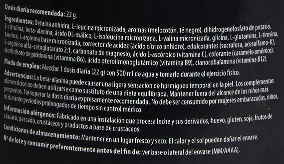 Scitec Nutrition Ami-NO Xpress Té al melocotón 440 g: Amazon.es: Salud y cuidado personal