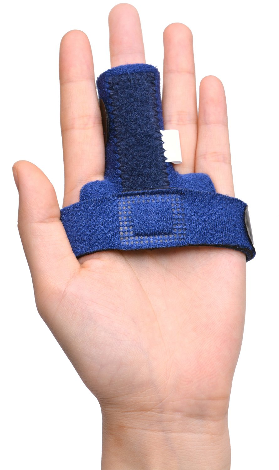 7TECH Adjustable Trigger Finger Splint for Alleviating Finger Locking, Popping, Curved & Pain Relief