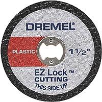 """Disco de Corte para Plástico Dremel Cinza 1-1/2"""" Pacote de 5"""