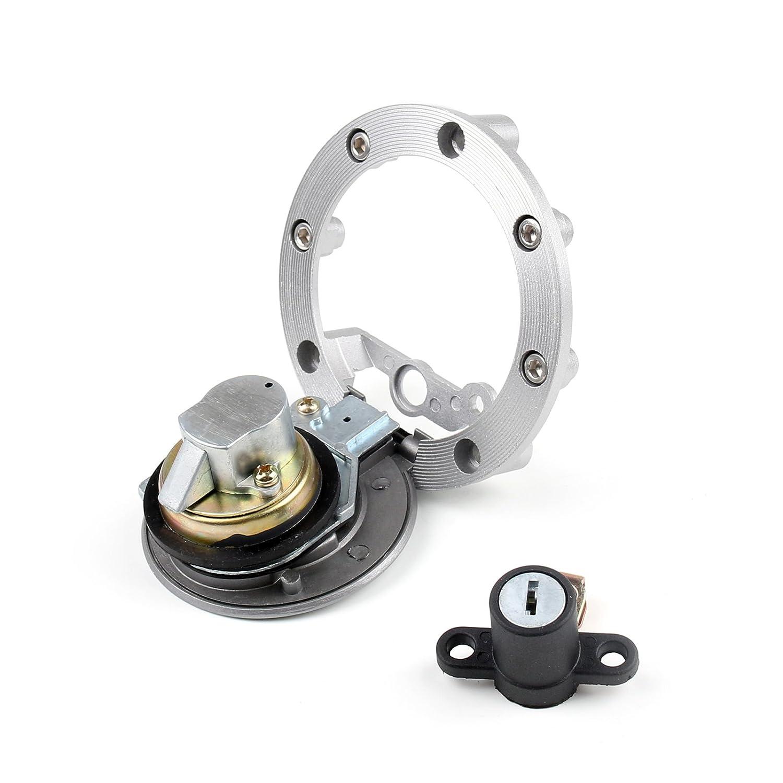 Areyourshop Ignition Switch Lock /& Fuel Gas Cap Key Set For Yamaha MT03 06-12 YZF R6 R1 XJ6