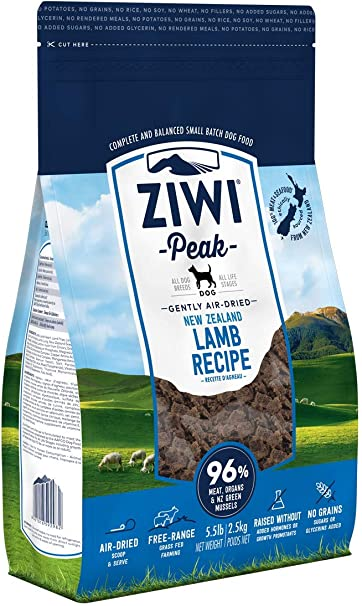 2.2lb Ziwi Peak Air-Dried Lamb Dog