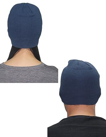 e5151869f93 Hurley Unisex Double-Layer Ski   Skate Visor Beanie   Winter Hat one size  Dark
