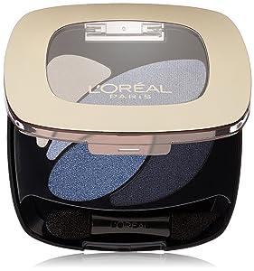 L'Oreal Paris Colour Riche Dual Effects Eyeshadow, Eternal Blue [280] 0.12 oz